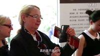北京非物质文化遗产<风筝京绣剪纸>在巴黎皮尔卡丹剧场开幕